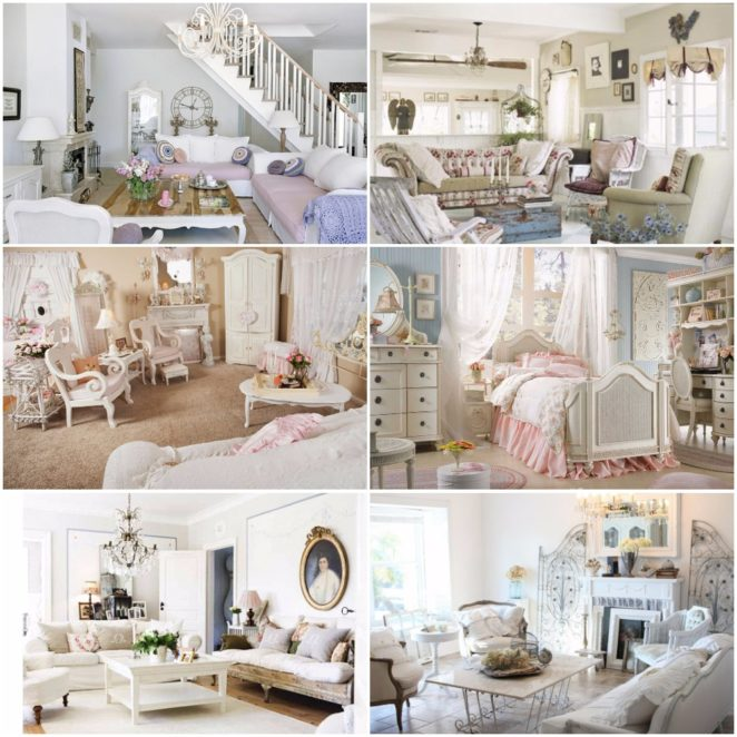 The best ideas to create a shabby chic interior design - Shabby chic interior design ...