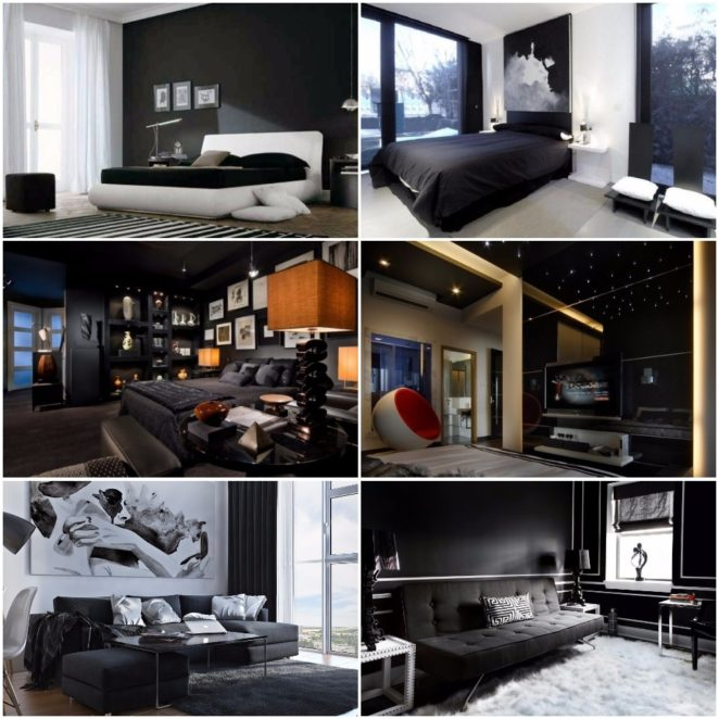 Tips For Interior Design Colors Black Color Virily