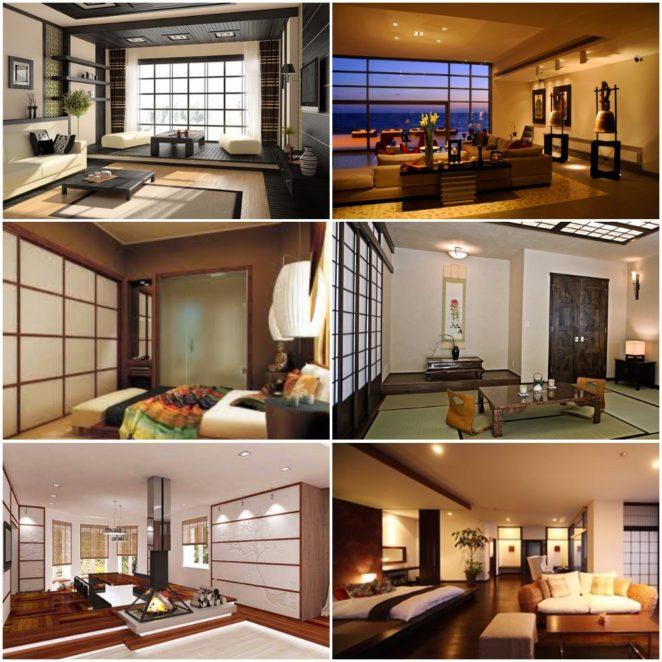 Tips for Asian / Zen interior decor style - create a