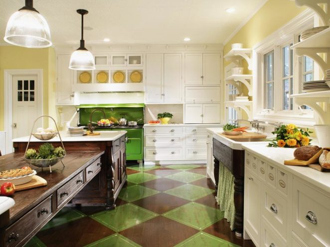 Charmant 20 Stunning Ideas For Efficient Kitchen Design And Layout ...