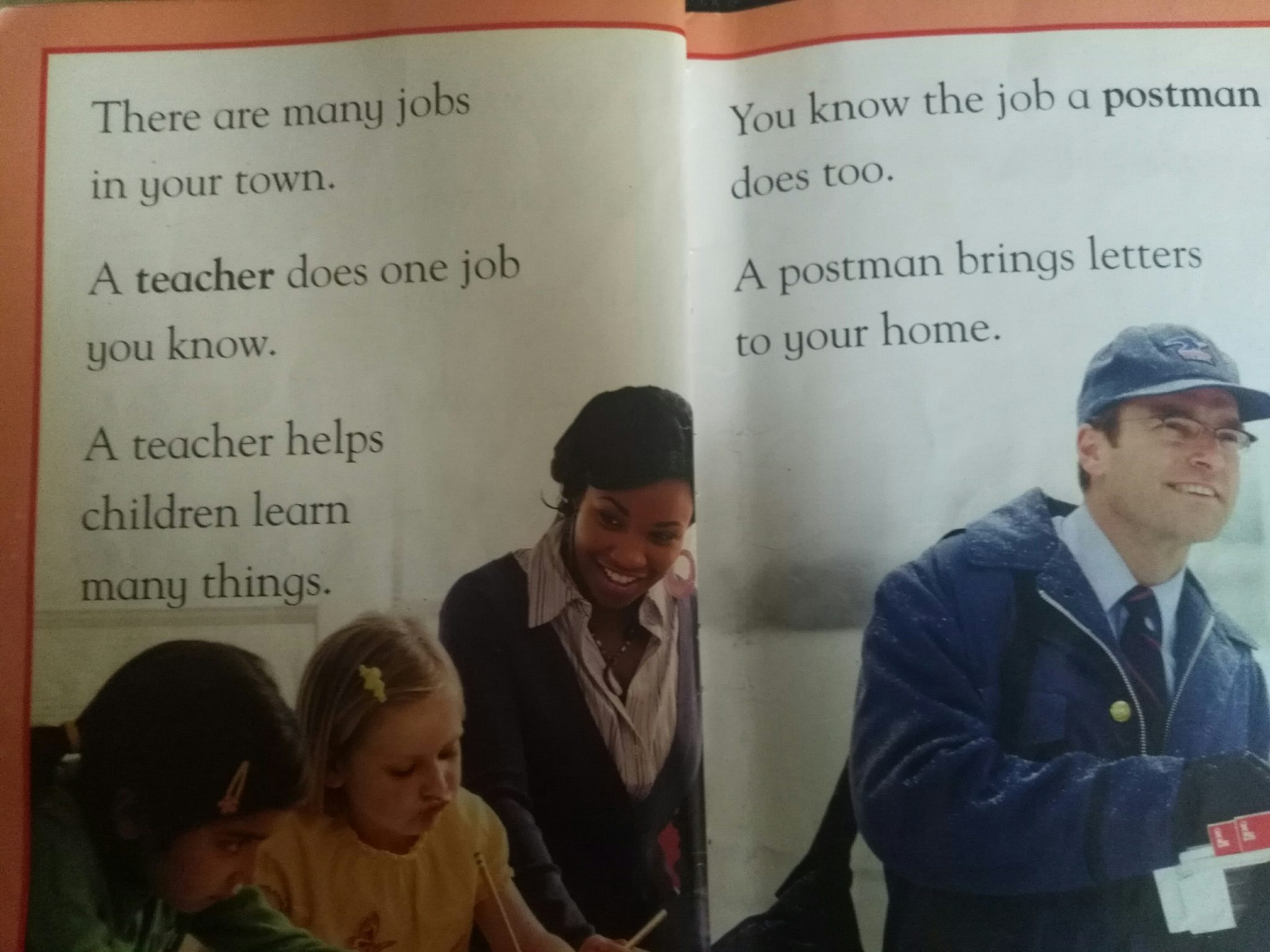 Early Reader Books: Jobs People Do