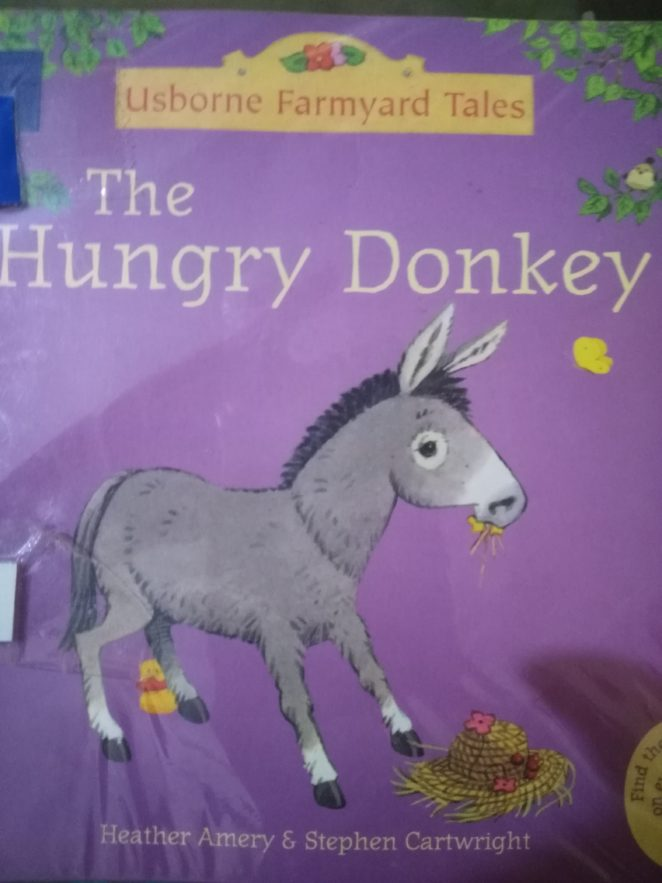 Early Reader Books: The Hungry Donkey