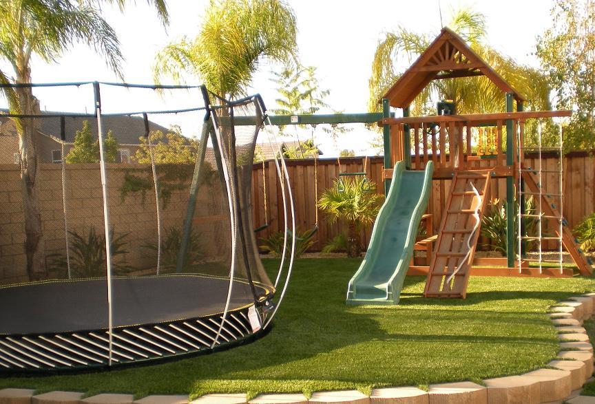 Outdoor playground ideas for children - Virily