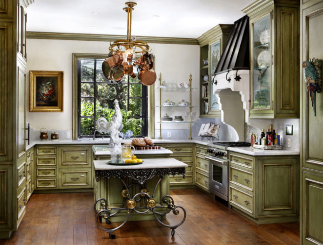 Ideas For The Olive Green Kitchen