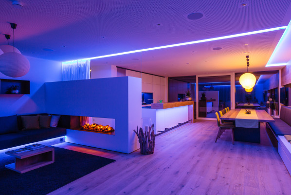 Home Decoration With Led Lighting Strips Virily