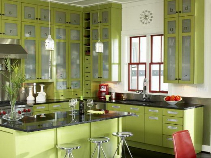 Tips and ideas for the olive green kitchen - Virily