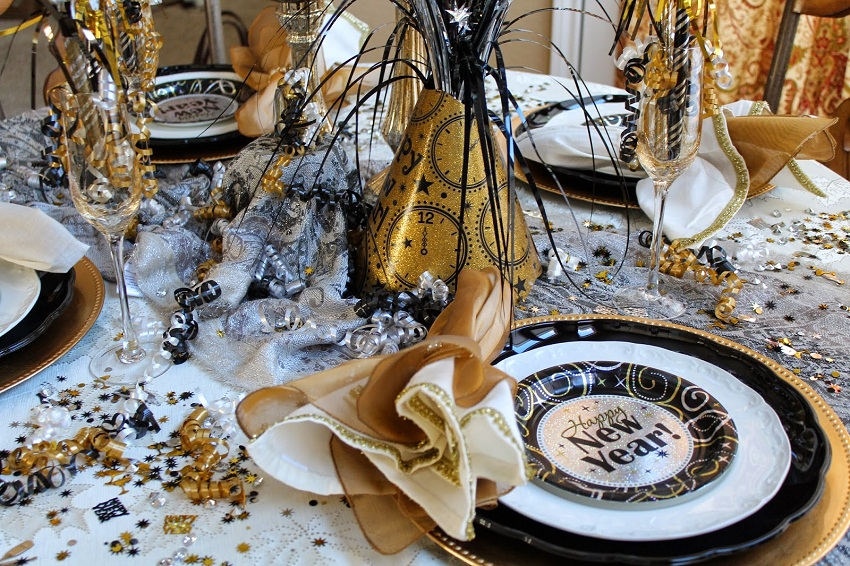 New Year celebration: some simple ideas for the festive ...