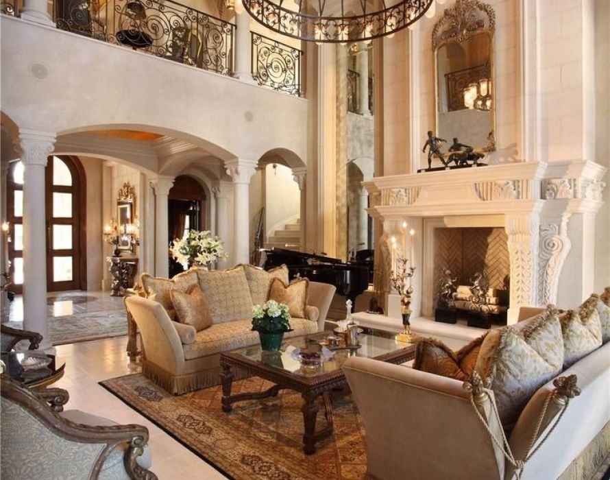 Tips for living room in Mediterranean style: furniture ...