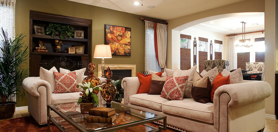 Tips for the American interior - 7 important features - Virily