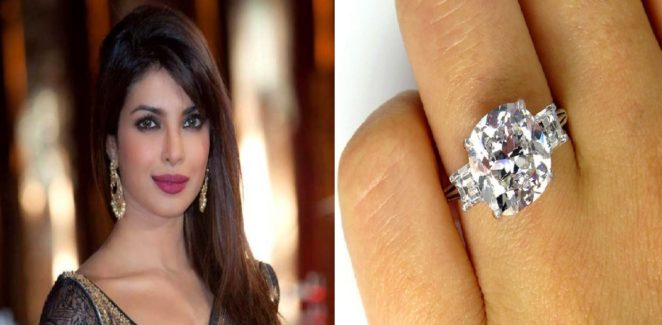 How Much Price Is The Priyanka Chopra S Engagement Ring Virily