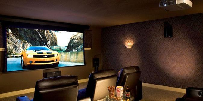 Setting Up Your Home Theatre System With Projector Screen Virily