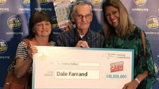 New York man wins the $10 million grand prize playing lottery - Virily