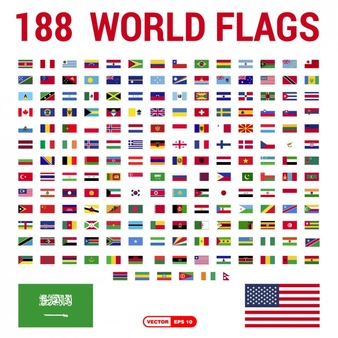 National Flags of Different Countries: Do You Know Them