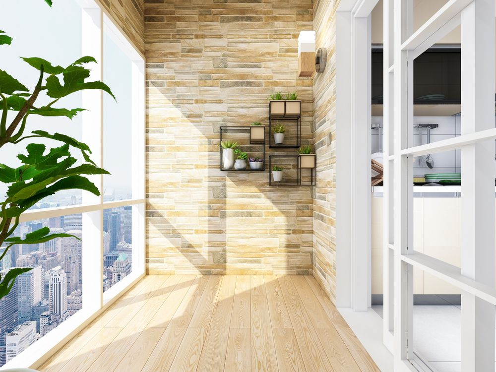 Short tips on how to equip a balcony under Feng Shui - Virily