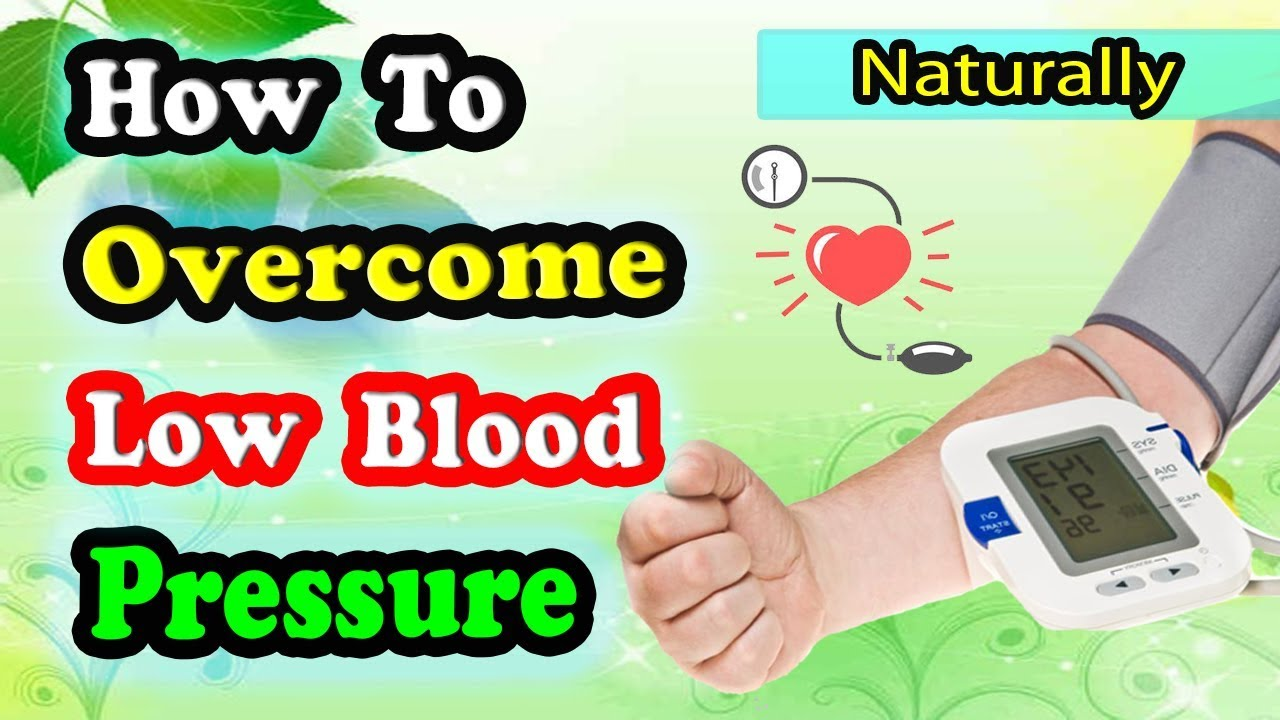blood pressure low treatment increase foods natural virily