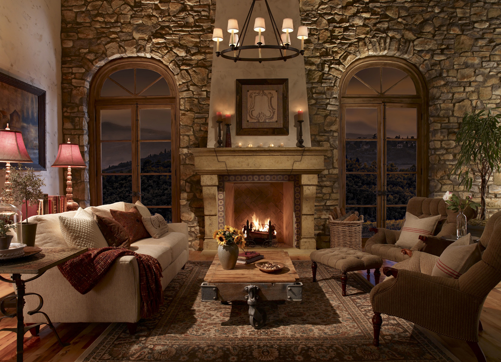 Best Decorating Ideas Cozy Fireplace In Home Interior