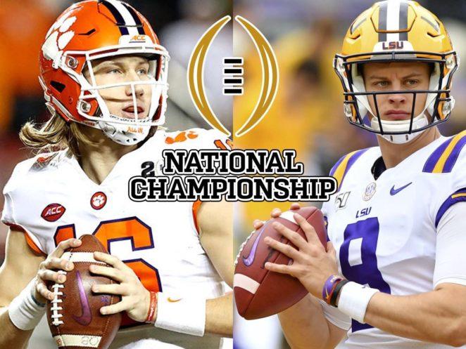College Football National Championship 2020: Clemson Vs ...